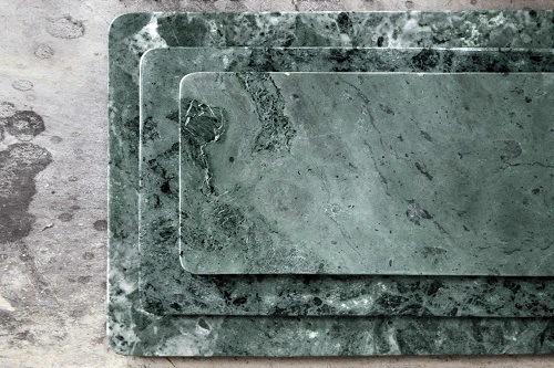taglieri bellissimi in marmo verde