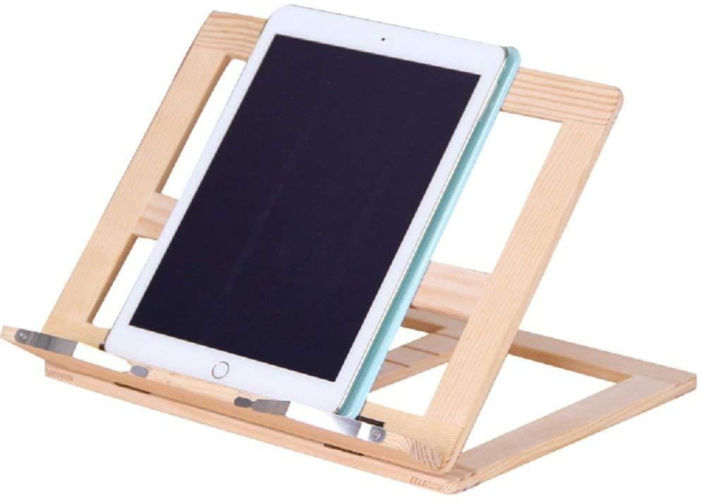 leggio legno supporto tablet