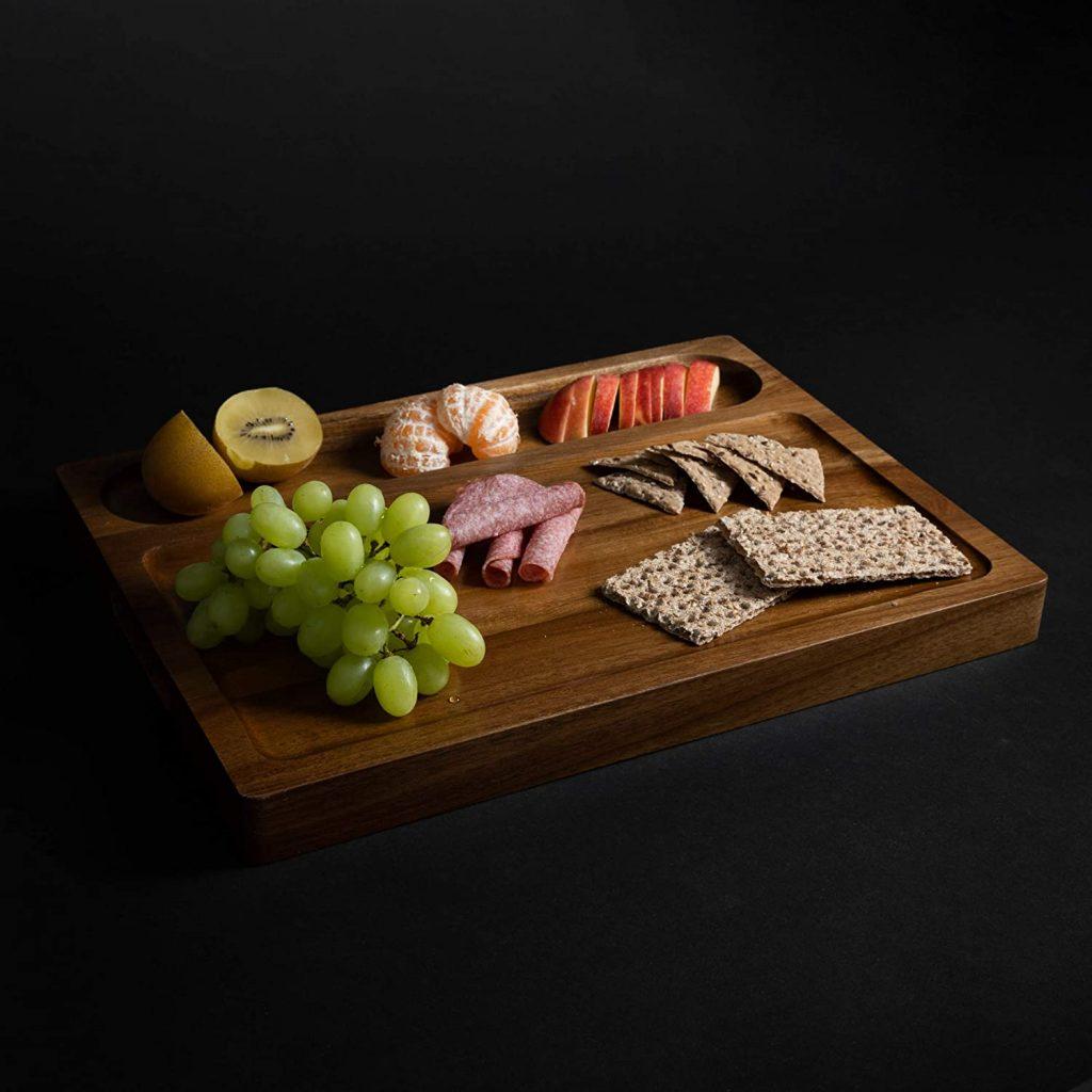 tagliere in legno piatto da portata