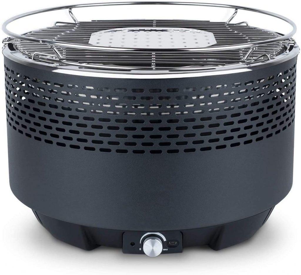 barbecue a carbonella elettrico