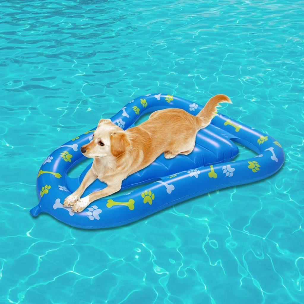 Lettini gonfiabili galleggianti per cani