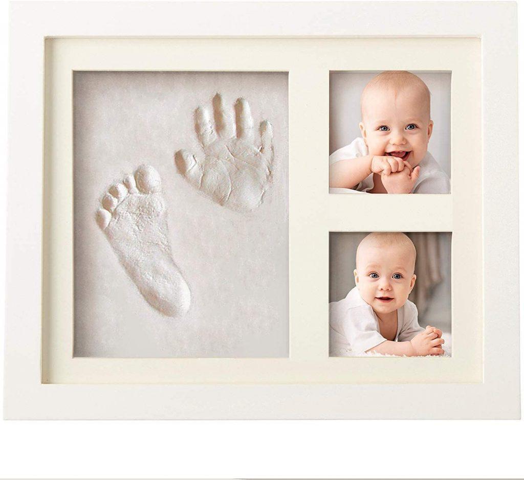 Regali per il primo anno di vita, cornice Impronta Mani Piedi