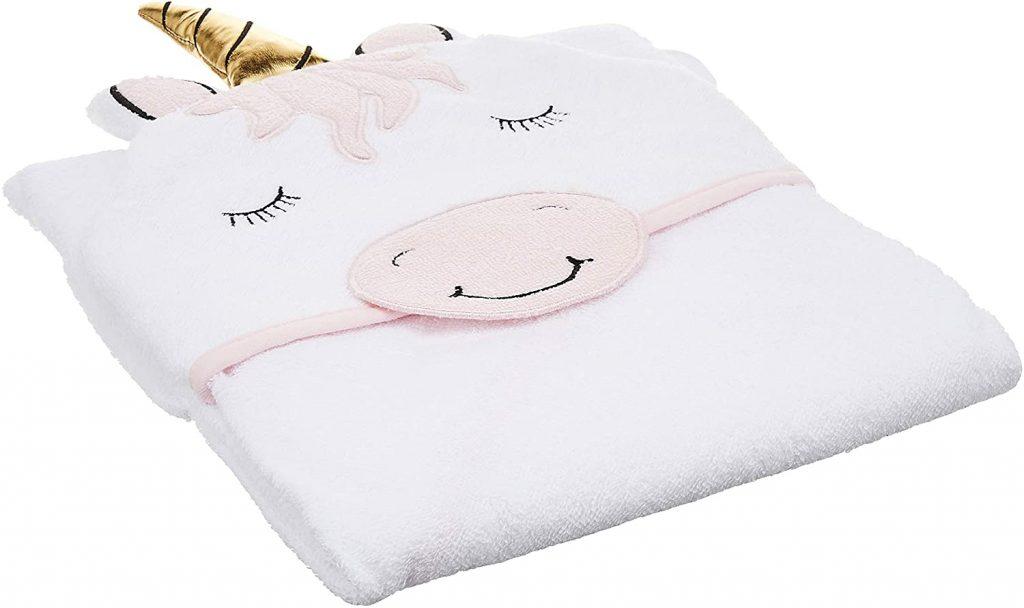 Asciugamano con cappuccio stile Unicorno