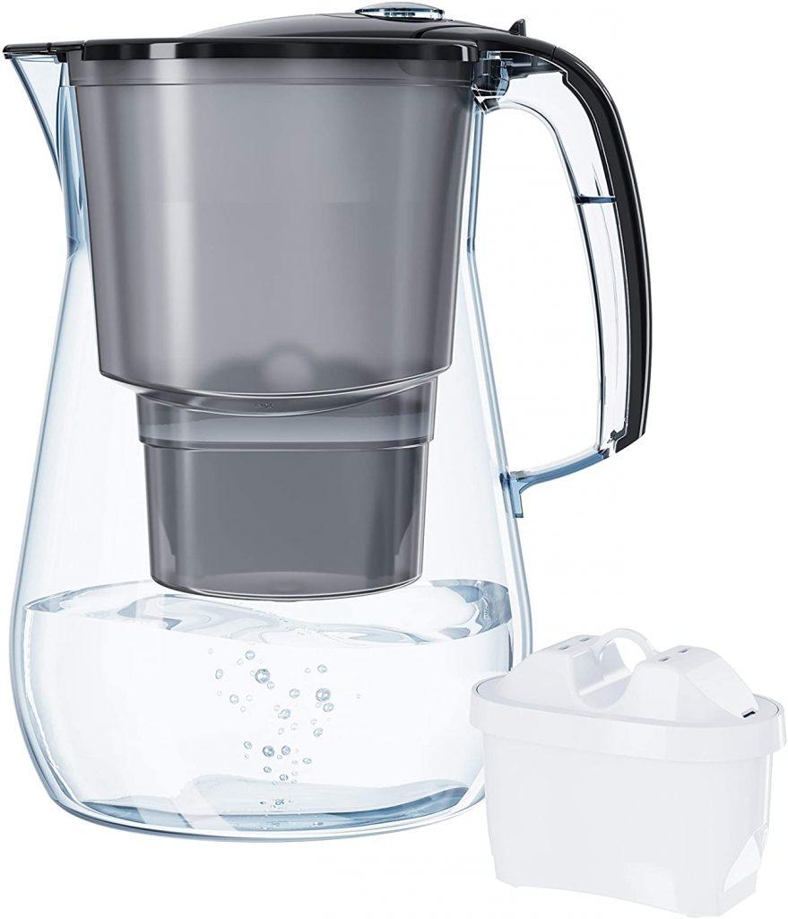 caraffa acqua filtrata