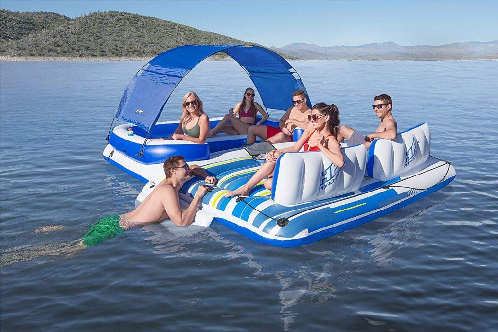motoscafo gonfiabile galleggiante